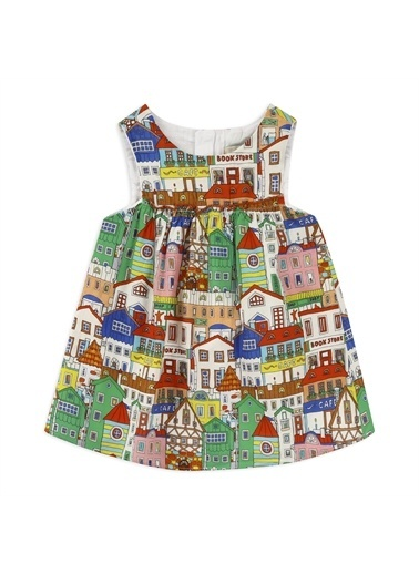 Panço Kız Bebek Elbise 2111GB26030 Yeşil